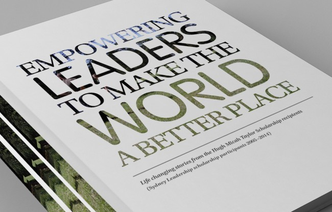 Sydney Leadership showcase book cover