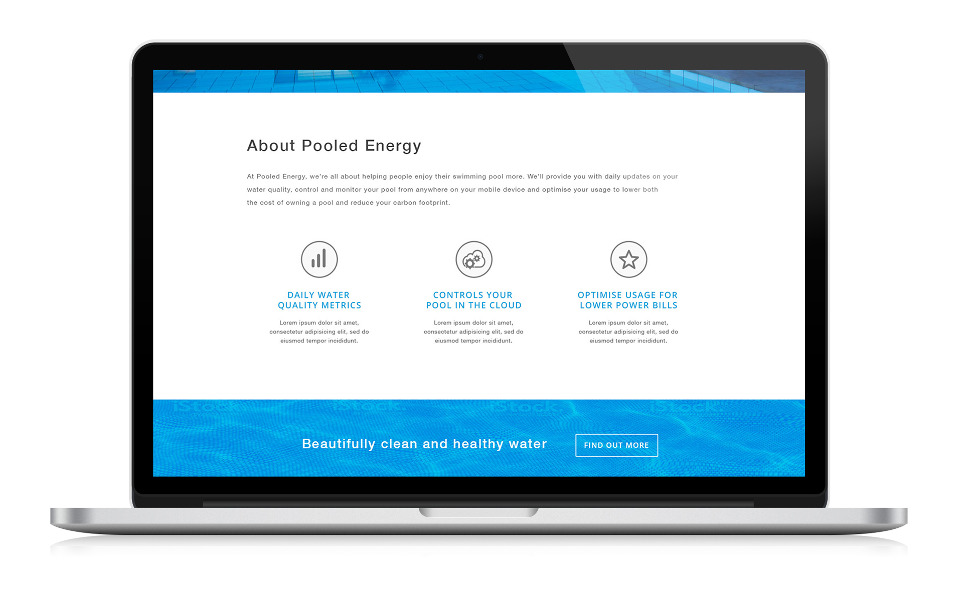 Pooled Energy website