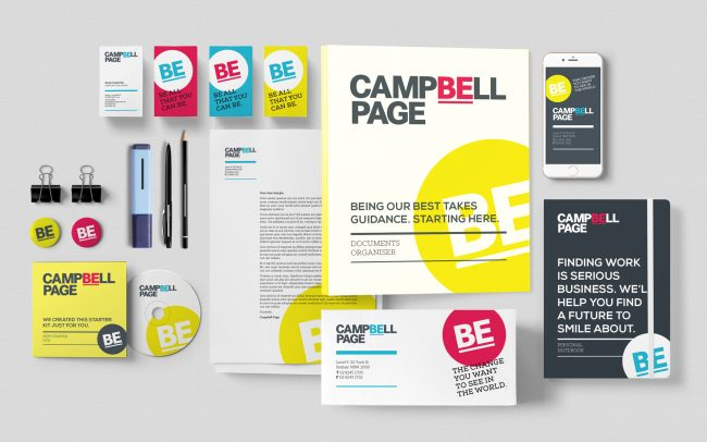 Campbell Page brand collateral suite