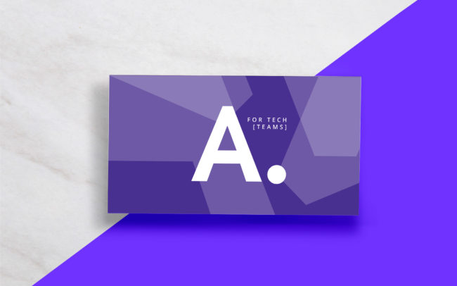 Arney Recruitment Business Card Design