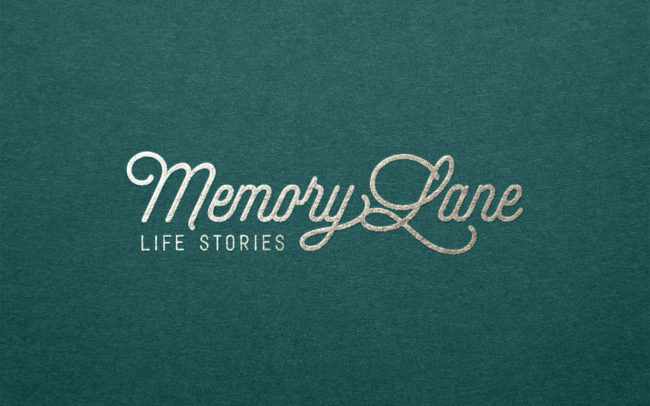Memory Lane Life Stories logotype